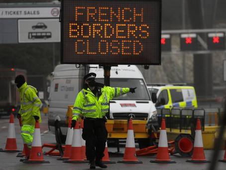 ドーバー海峡国境閉鎖 イギリス⇔フランス