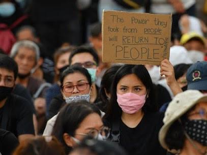 タイ人民主活動家が失踪