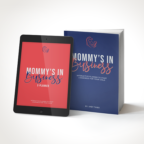 """BUNDLE """"Mommy's in Business"""" E-Planner + Paperback"""