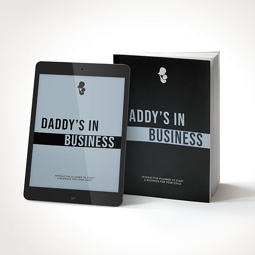 """""""Daddy's in Business"""" Planner Bundle"""