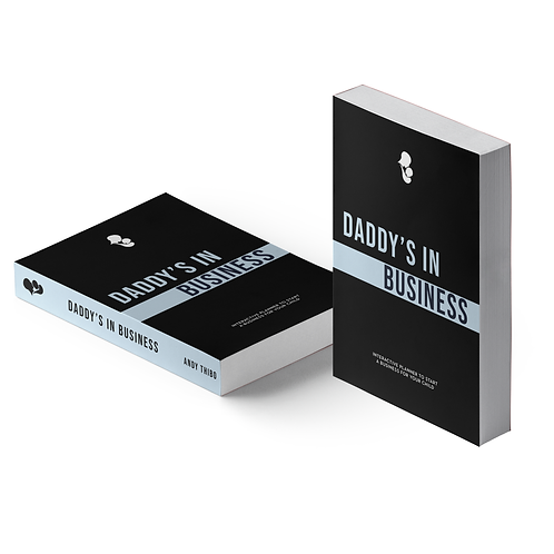"""""""Daddy's in Business"""" Paperback Planner"""
