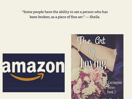 The Art of Loving (The Carrington Series Book 2) Now available in Paperback!