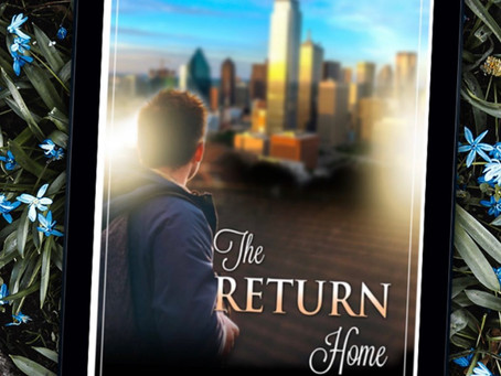 Cover Reveal for The Return Home ~ The Carrington Series (3) October 29, 2020. Coming April 2021
