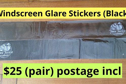 Windscreen Glare stickers X2