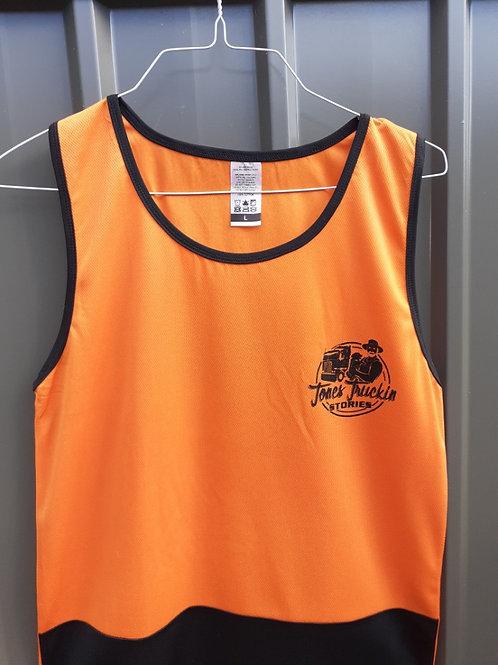 Hi-Vis Orange Singlets