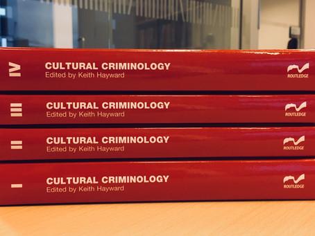Keith Hayward lança coleção Cultural Criminology, com quatro volumes