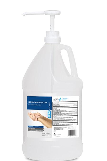 AeroCleanse Hand Sanitizer Gel 1 Gal