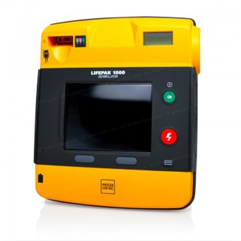 Lifepak 1000 AED Graphical Display