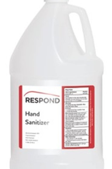 Respond Liquid Hand Sanitizer 1 Gal