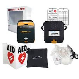 Physio Control Automatic AED Package