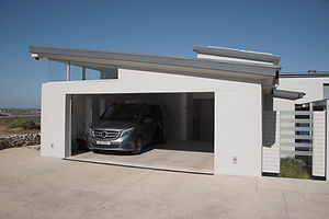 Exterior of Modern Garage