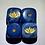 Thumbnail: 1px Phantom Teal/Gold Dice - Lotus Logo