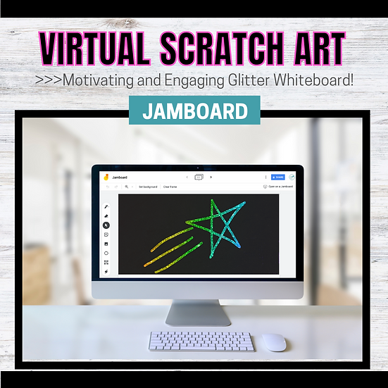 Jamboard: Scratch Art Template