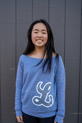 Wide-Neck Sweatshirt