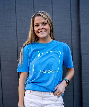Oregon Shirt, Crew Neck