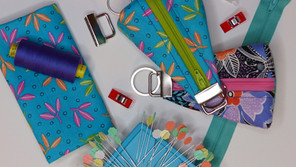Key Fob Coin Pouch Pattern by Rosie & David