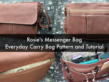 Rosie's Messenger Bag