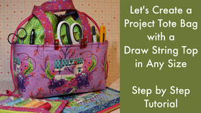Let's Create a Project Tote Bag in Any Size