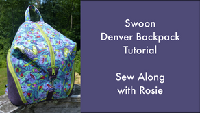 The Denver Backpack by Swoon Sewing Patterns
