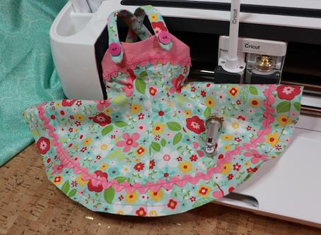 Cricut Maker & Simplicity Tank Top Doll Dress  - @Cricut