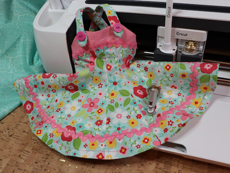 Cricut Maker & Simplicity Tank Top Doll Dress  - @Cricut