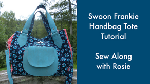 The Frankie Handbag Tote by Swoon Sewing Patterns