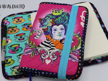 Let's Sew a Quilted A5 Journal Cover