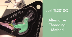 Juki TL2010Q - Alternative Threading Method