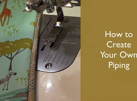 How to Create Your Own Piping
