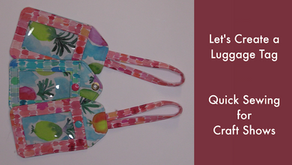 Let's Create a Luggage Tag