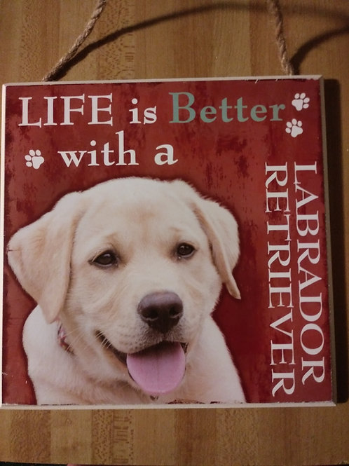 Personalized Labrador Plaques
