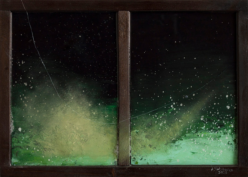 Антон Тотибадзе, натюрморт, пейзаж / Anton Totibadze, Landscape