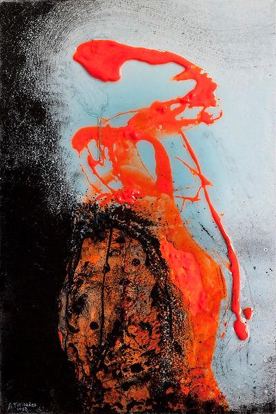 Anton Totibadze, Антон Тотибадзе, mixed media, abstraction