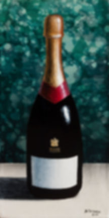 Антон Тотибадзе натюрморт, Anton Totibadze still life, champagne