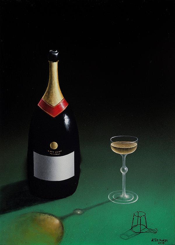 Anton Totibadze Prince Lames Bond, champange, Антон Тотибадзе
