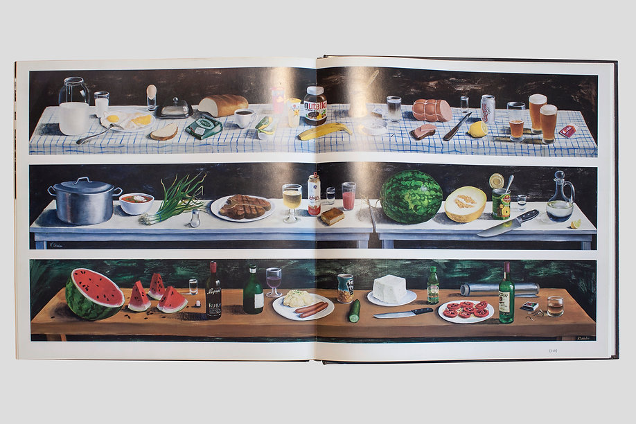 Dinner is served. The Russian Museum culinary companion, Anton Totibadze