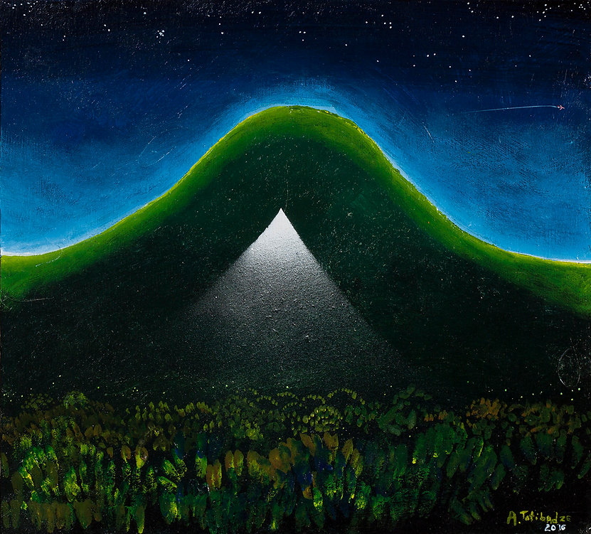 Антон Тотибадзе, пейзаж / Anton Totibadze, landscape