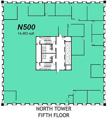 2000 N Classen - North Tower - 5th Floor