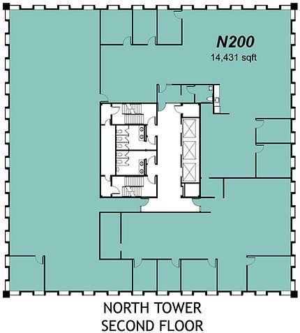 2000 N Classen - North Tower - 2nd Floor