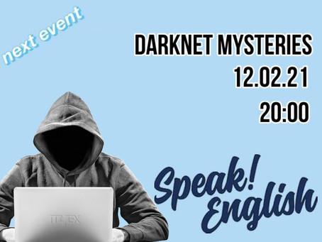 [S!E Event #2] Darknet Mysteries