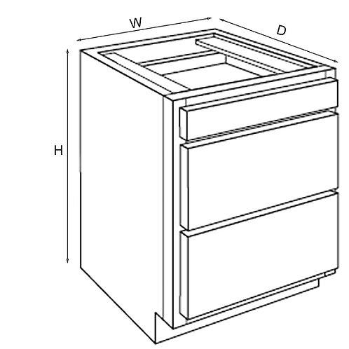 Vanity Drawer Base VDB 12, 15, 18