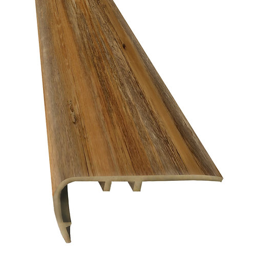 RUSTIC HICKORY POD STAIR NOSE