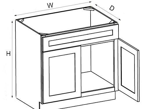 Vanity Sink Base VSB 30, 33, 36