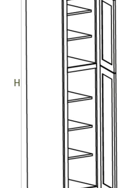 2 Door Pantry UT188424, 189424