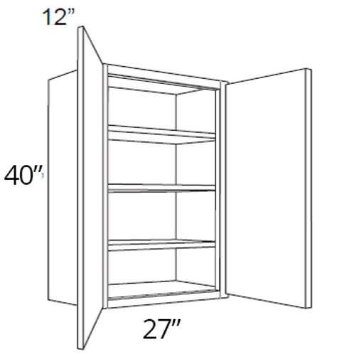"40"" High Double Door - 27W x 40H x 12D, W2740"