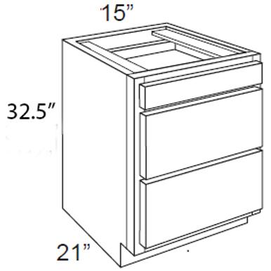 Vanity Cabinet - 15W x 32.5H, VDB1521