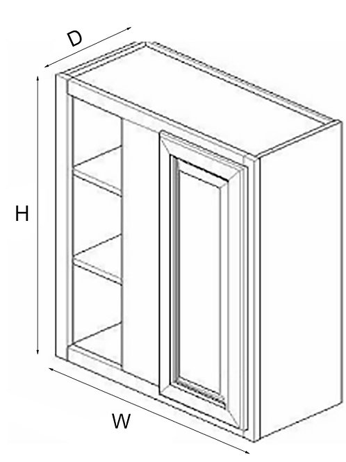 Wall Blind Corner WBC30