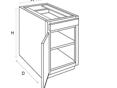 Single Door Base B06, 09, 12, 15, 18, 21