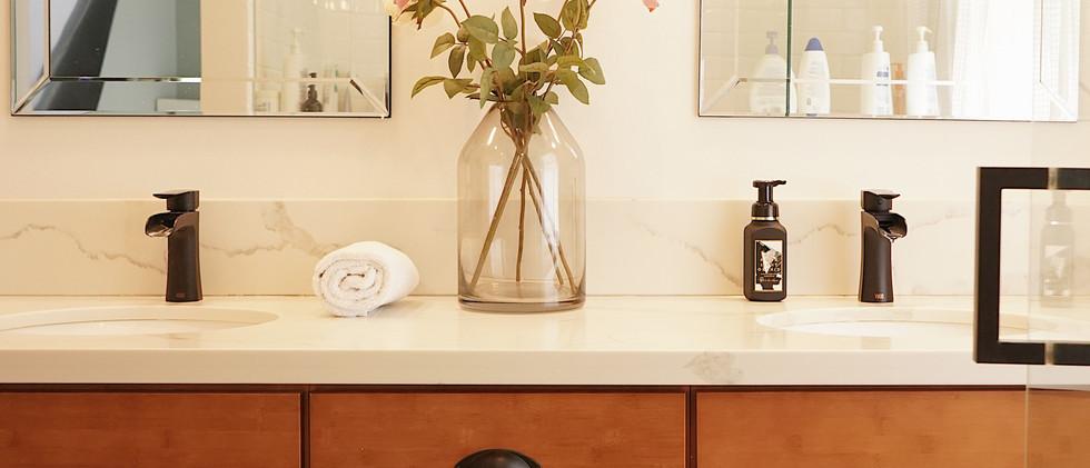 Bamboo Shaker Vanity