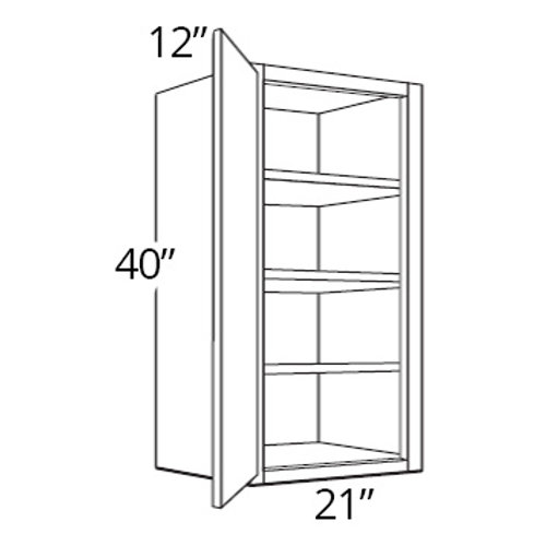 "40"" High Single Door - 21W x 40H x 12D, W2140"